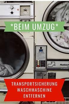 transportsicherung richtig entfernen jede waschmaschine