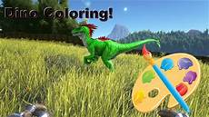 ark survival evolved how to paint color dinos xbox one admin commands youtube