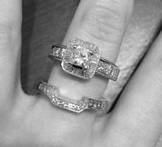 white gold diamond engagement ring s wedding band