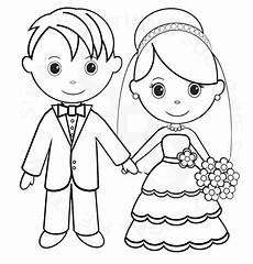Malvorlagen Wedding Children Painting Ausmalbilder Hochzeit Hochzeit