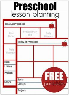 preschool lesson planning template free printables my preschool classroom preschool lesson
