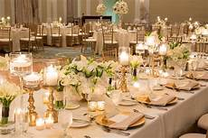 wedding decor in gold and cream elegant florida resort wedding from justin demutiis