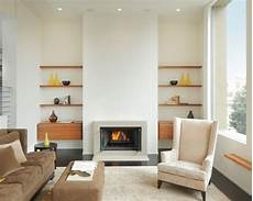 Ideas Next To Fireplace by Shelves Next To Fireplace Home Design Ideas Pictures