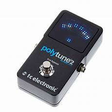 tc polytune 2 tc electronic polytune 2 blacklight polyphonic tuner pedal reverb