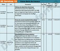 Ks Services 13 Co 251 T D Une R 233 Fection 233 Lectrique Et Devis