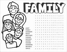 family worksheets free 18612 family word search printable activity shelter