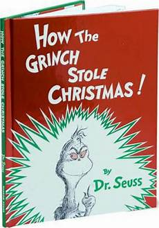 Grinch Malvorlagen Novel How The Grinch Stole Dr Seuss 9780394800790