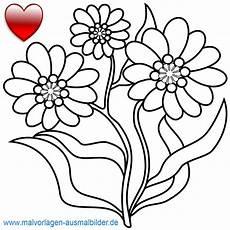 Ausmalbilder Blumen Kinder Blumenbilder Kostenlos Herunterladen Kinderbilder