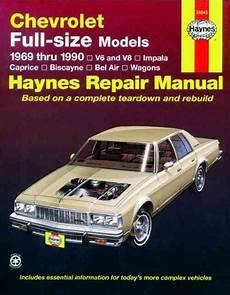 small engine repair manuals free download 1993 plymouth grand voyager parking system chevrolet full size models 1969 1990 haynes service repair manual sagin workshop car manuals