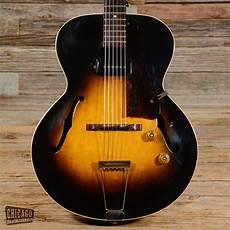 used guitars chicago gibson es 125 sunburst 1952 s224 vintage electric guitars gibson guitars guitar