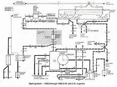 1984 Ford Bronco Wiring Schematic by Ford Bronco Ii And Ranger 1983 1988 Start Ignition Wiring