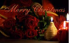 merry christmas ecard beautiful roses and candles fre hd wallappers hd wallpaper