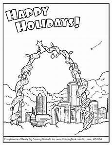 coloring pages free coloring pages happy holidays