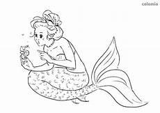 Ausmalbilder Meerjungfrau Mit Seepferdchen Ausmalbilder Meerjungfrau Kostenlos 187 Malvorlage Meerjungfrau