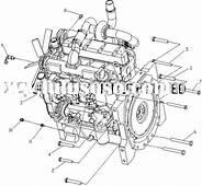 JOHN DEERE Engine Piston RE57731/RE57512/RE70688/RE70689
