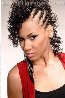 Cornrows And Curls Hairstyles
