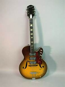 vintage silvertone electric guitars imperial vintage guitars 1960s silvertone vintage 1429l sunburst 3 thinline archtop