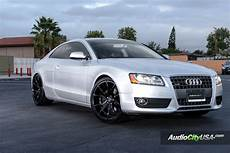 2012 Audi A5 On 20x10 Varro Vd Wheels Vd 01 Matte Black