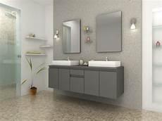 salle de bain design gris meuble de salle de bain vasque carr 233 gris mat