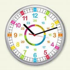 Kinder Wanduhr Lernuhr Kinderzimmer Uhr Farbenfroh