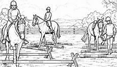 Ausmalbilder Pferde Springen Gratis Ausmalbilder Pferde Springreiten Ausmalbilder Pferde