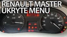 Ukryte Menu Zegar 243 W Renault Master Tryb Serwisowy Test