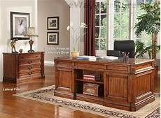 ebay home office furniture grand manor granada double pedestal executive desk home