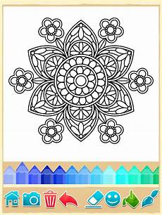 mandala coloring pages android apps on play