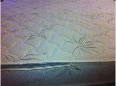 Queen Bamboo   Wool Zippered Mattress Cover, Replacement