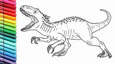 jurassic world dinosaurs coloring pages 16737 drawing and coloring indominus rex from jurassic world dinosaurs color pages for children