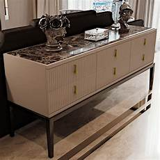 credenza deco deco inspired high end 6 drawer buffet sideboard