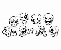 Free Cartoon Skull Icon Vector Art & Graphics