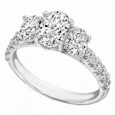 15 best ideas of three stone engagement rings with side stones