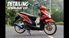 Beat Esp Modif by Review Honda Beat Esp 2015 Modifikasi Ala Thailand