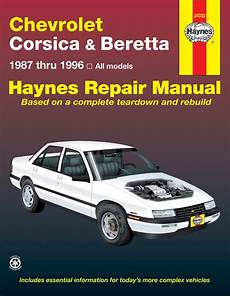 best car repair manuals 1996 chevrolet corsica lane departure warning chevrolet corsica beretta 87 96 haynes repair manual haynes manuals