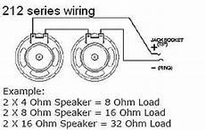 guitar cab wiring diagram earcandy 2x12 guitar speaker cab series wiring harness w reverb