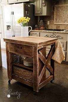Kitchen Island Cart Diy by Kitchen Island Inspired By Pottery Barn Shanty 2 Chic