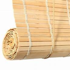 Store Enrouleur 224 Lattes 90 X 130 Cm Bambou Naturel
