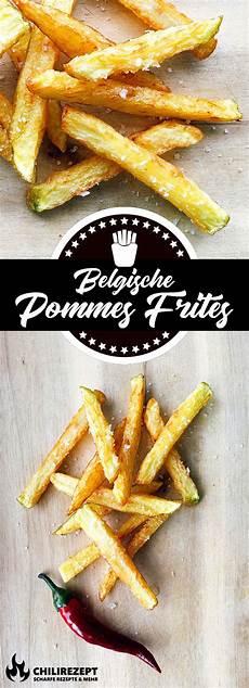 Pommes Frites Selber Machen - belgische pommes selber machen rezept f 252 r belgische fritten