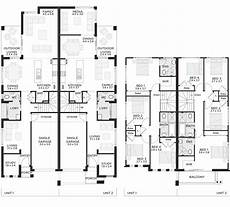 two storey duplex house plans toscano duplex