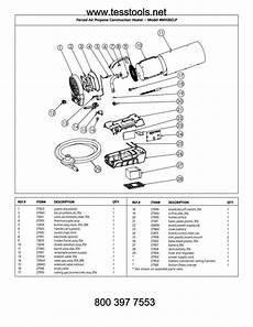 Mr Heater Mh35clp Parts Parts List And Diagram