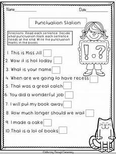 punctuation worksheets for grade 2 20692 punctuation freebie punctuation worksheets 1st grade worksheets