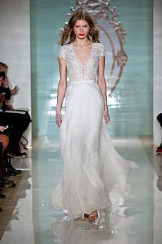 The Gown Trends From The 2015 Bridal Runway