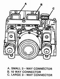 repair anti lock braking 1992 gmc vandura 1500 on board diagnostic system repair guides four wheel anti lock 4wal system general description autozone com