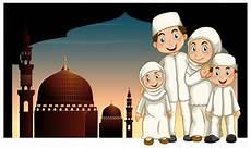 Koleksi Gambar Kartun Keluarga Islami Kumpulan Kartun