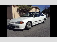 95 civic ex coupe   YouTube