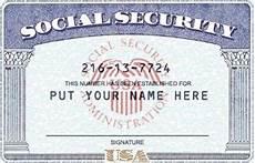 make a social security card template psd ssn template social security number soci ideas for