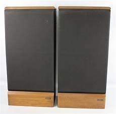 1980s pair advent maestro 3 way floor standing speakers
