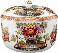 Zuckerdose Meissen Um 1730 Porzellan Polychrome Zum