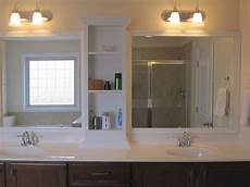 Bathroom Mirror With Shelves